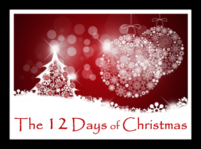 12 Days of Christmas Blog Hop Button with Frame