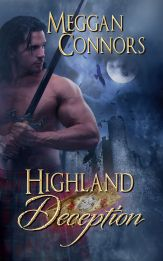 Meggan Connors   Highland Deception   Book Cover