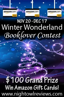 NOR Wintter Wonderland Booklover Contest Graphic